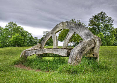 Photograph - Bench  by Gouzel -