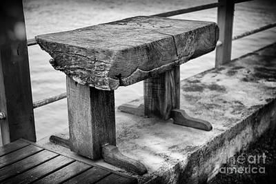 Bench Art Print by Thanh Tran
