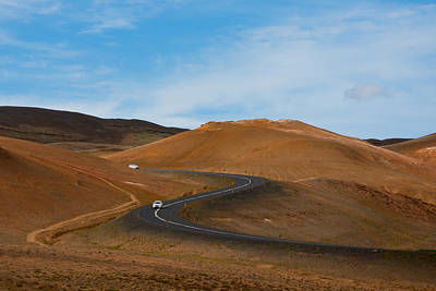 Photograph - Bends In The Road by Anthony Doudt