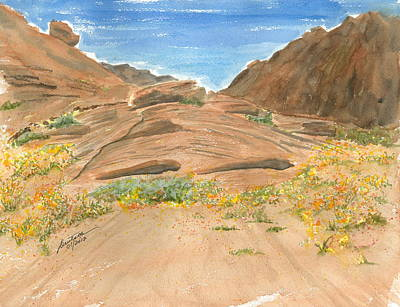 Painting - Beneath An Ancient Sea by Joel Deutsch