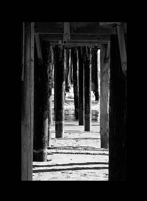 Photograph - beneath the pier Avila beach by Gary Brandes