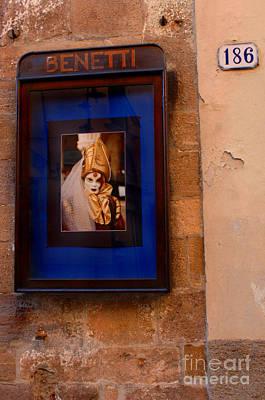 Beniiti In Lucca Art Print by Bob Christopher