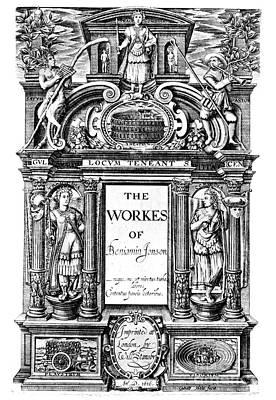 Benjamin Jonson (1573-1637) Art Print by Granger