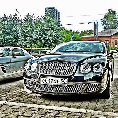 Extreme Sports Photograph - Bentley #car #race #road #igr #bentley by Igor Che 💎