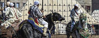 Berber Festival Art Print by Chuck Kuhn