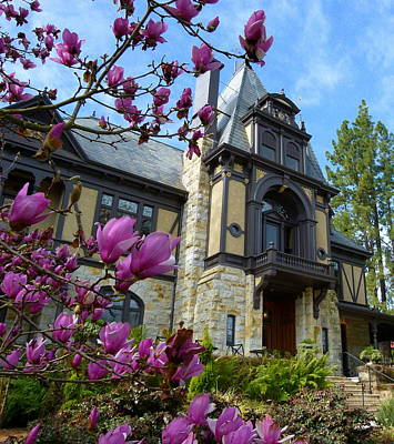 Photograph - Beringer Family Mansion by Jeff Lowe