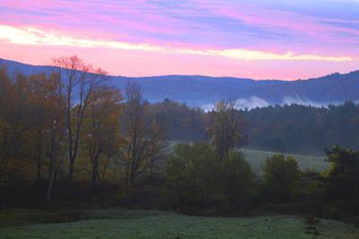 Berkshires Sunrise Art Print by Todd Breitling