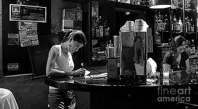 Bar San Miguel Photograph - Berlin Bar In San Miguel De Allende by John  Kolenberg