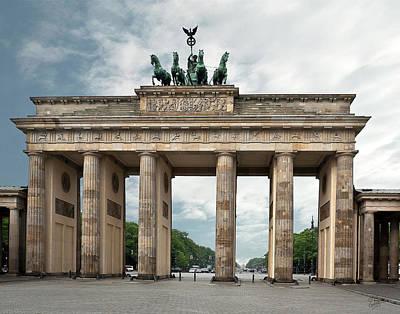Photograph - Berlin Brandenburg Gate  by Endre Balogh