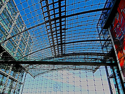 Eruopa Photograph - Berlin Central Station ...  by Juergen Weiss