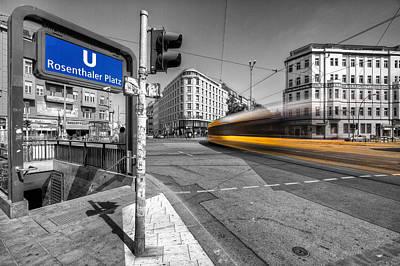 Prenzlauer Berg Photograph - Berlin Colorkey by Marcus Klepper