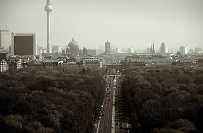 Er Photograph - Berlin From The Victory Column by RicardMN Photography