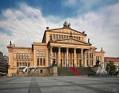 Photograph - Berlin Opera House by Endre Balogh