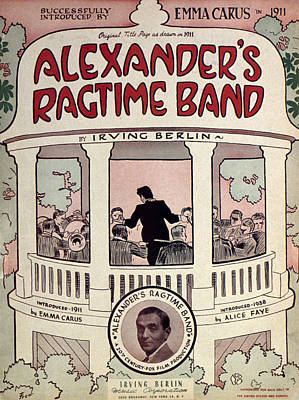 Ragtime Photograph - Berlin: Ragtime Band by Granger