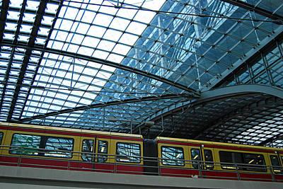 Berlin Railway Station Houptbahnhof Original