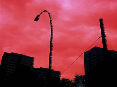 Berlin Red Art Print by Vanderbic Digital