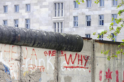 Photograph - Berlin Wall by Matthias Hauser