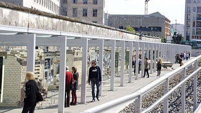 Berlin Wall Remains Art Print by Jon Berghoff