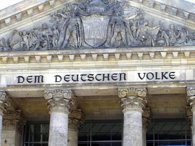 Berlin Photograph - Berliner Reichstag by Shyish!