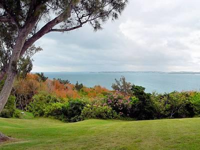 Photograph - Bermuda Landscape by Janice Drew