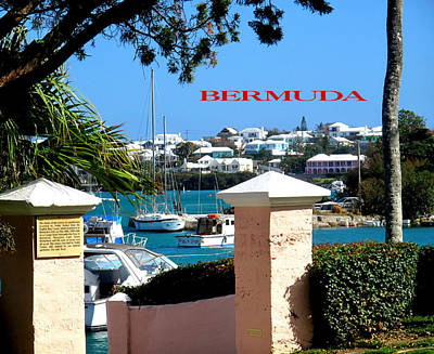 Photograph - Bermuda Southampton Poster by Ian  MacDonald