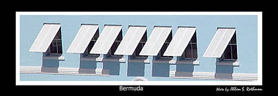 Photograph - Bermuda Windows by Allan Rothman