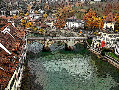 Photograph - Bern-3 by Rezzan Erguvan-Onal