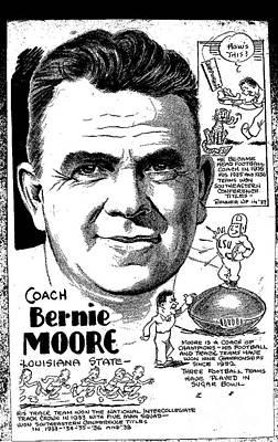 Bernie Moore Art Print by Steve Bishop