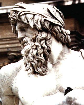 Photograph - Bernini's Fontane Del Fiumi Rome Italy by Merton Allen