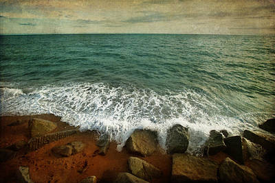 Photograph - Beside The Sea Iv by Sharon Johnstone