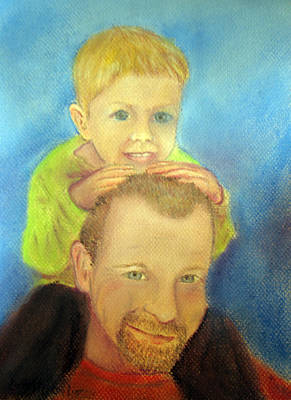 Drawing - Best Buddies by Loretta Luglio