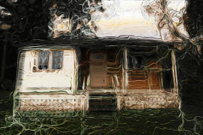 Dilapidated Mixed Media - Best Cottage by Janet Kearns