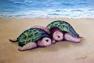 Painting - Best Friends Forever by Ginny Schmidt