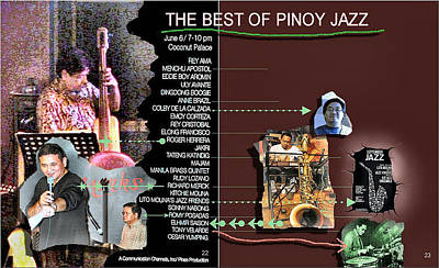 Photograph - Best Of Pinoy Jazz by Glenn Bautista