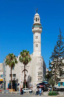 Digital Art - Bethlehem Minaret by Eva Kaufman