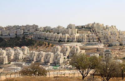 Vintage Performace Cars - Bethlehem Zionist Settlement Abu Ghneim by Munir Alawi