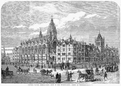 Bethnal Green Market, 1869 Art Print by Granger