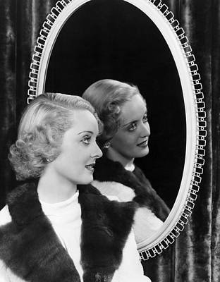 Photograph - Bette Davis, 1936 by Everett