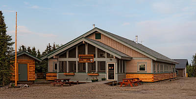 Photograph - Bettles Ranger Station by Gary Rose