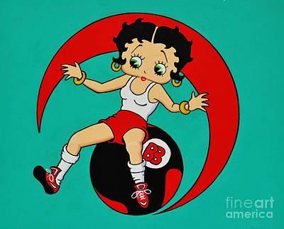 Betty Boop Excersizeing Original