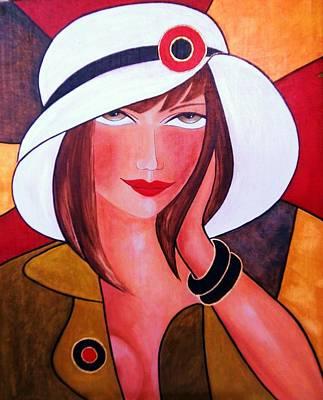 Betty Art Print by Camelia Apostol