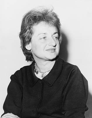 Social Movements Photograph - Betty Friedan 1921-2006, Feminist by Everett