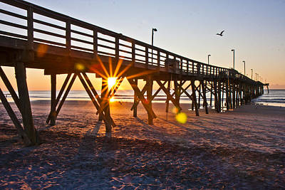 Topsail Island Photograph - Between The Poles by Betsy Knapp