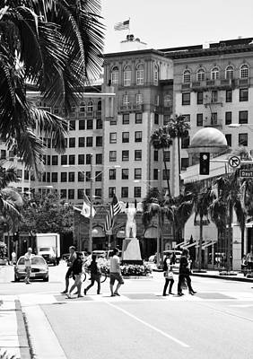 Upscale Photograph - Beverly Wilshire by Ricky Barnard
