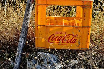 Photograph - Bevete Coca Cola by Dany Lison