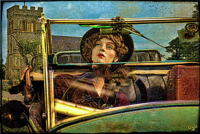 Photograph - Beware Of Mannequin Drivers by Chris Lord