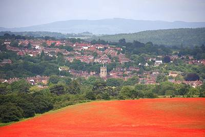 Bewdley On Poppy Art Print