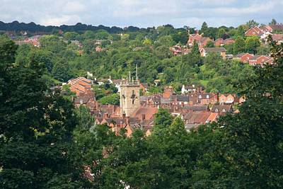 Photograph - Bewdley Through The Trees by Ed Lukas