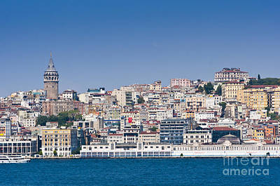Art Print featuring the photograph Beyoglu by Andrew  Michael