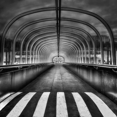 Symmetry Photograph - Beyond My Destiny by Evelina Kremsdorf